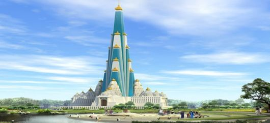 World's Tallest Iskcon Chandrodaya Mandir In Vrindavan