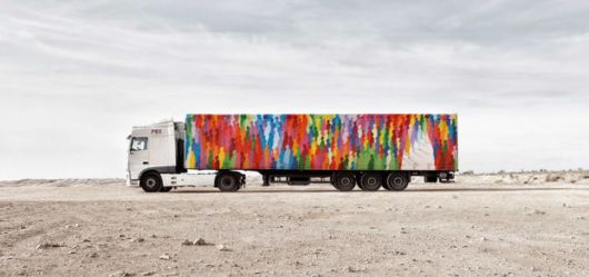 Stunning Giant Murals Created On The Side Of Transport Trucks