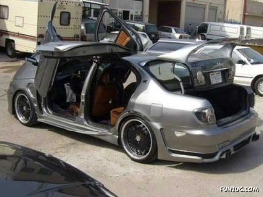 Amazing BMW With Crazy Doors