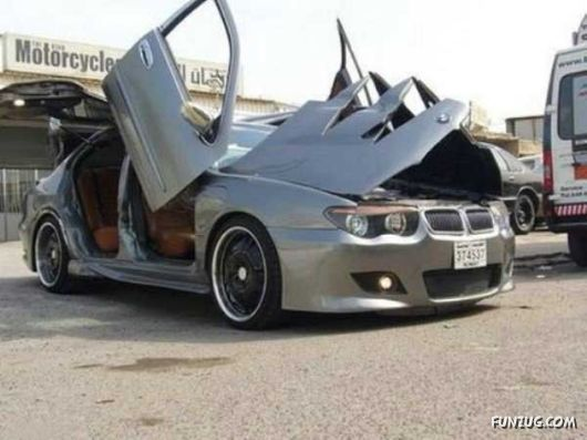 Amazing BMW With Crazy Doors