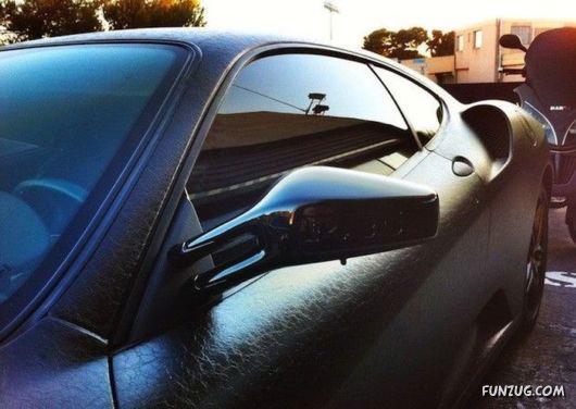 Amazing Ferrari F430 In Leather