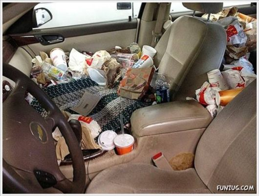 The Messiest Cars On Planet