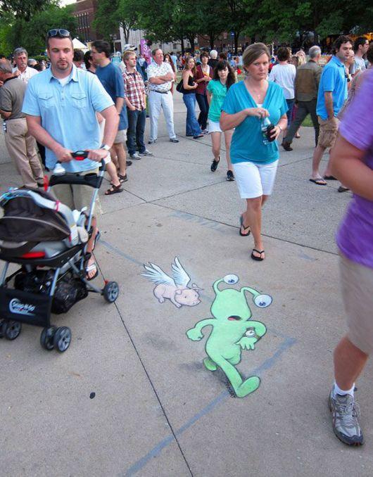 Amazing Chalk-Drawn Adventures