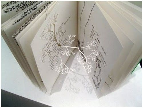 Beautiful Paper Trees By Yuken Teruya