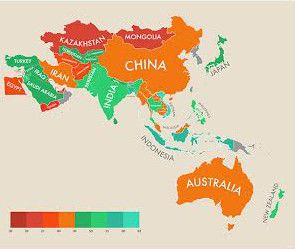 Happiest Countries Around The World