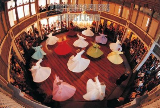 The Whirling Sufi Dervishes
