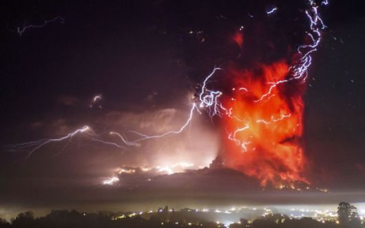 Most Explosive Volcanic Photos Of 2015