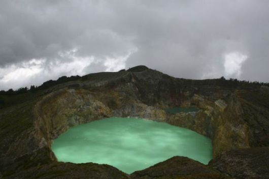 Indonesia's Amazing Tri-Colored Lakes