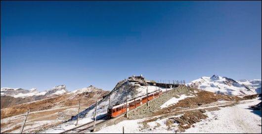 Gornergrat - The Second Highest Railway In Europe