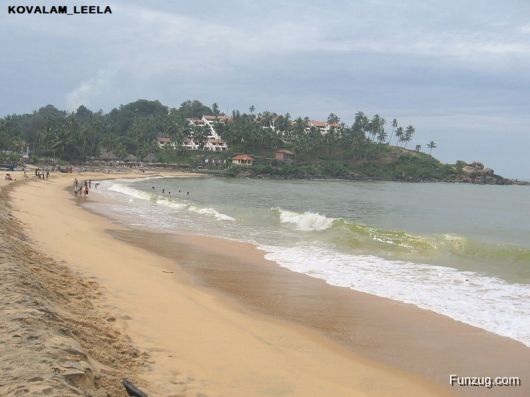 Kovalam - Beach Town on the Arabian Sea