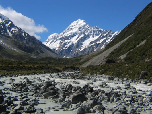 Lets Visit Mount Cook, New Zealand