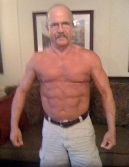 64 year old man