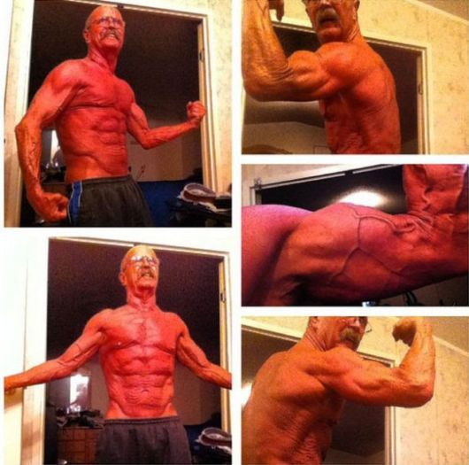 A 64 Year Old Man in Incredible Shape