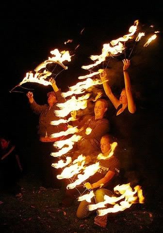 Awesome Fire Show Pictures