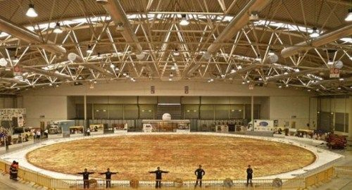 Guinness World Record Holding Gluten Free Pizza