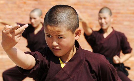 Nepal's Kung Fu Nuns Training