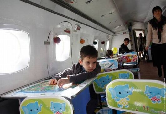 An Old Plane Is Now Ready For Kids