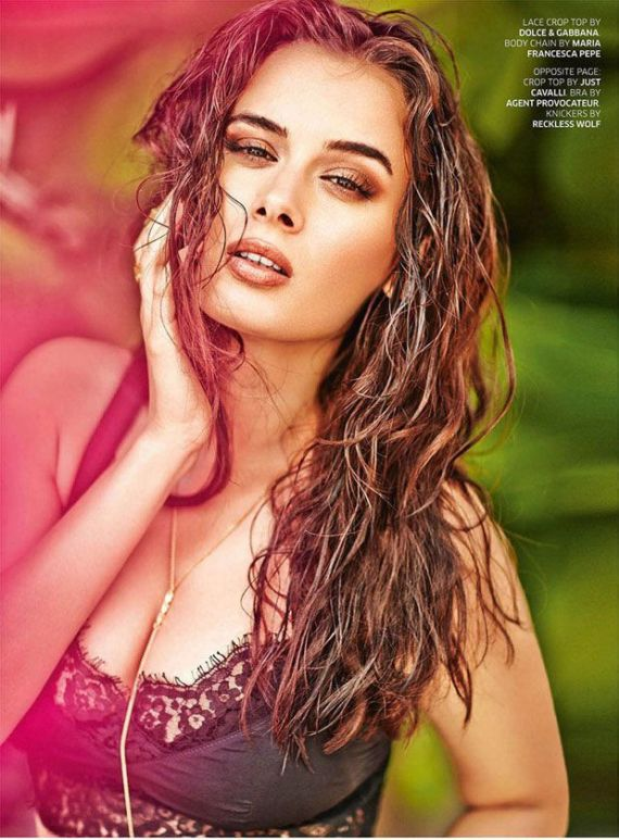 Evelyn Sharma's Awesome Shoot For Society Mandate