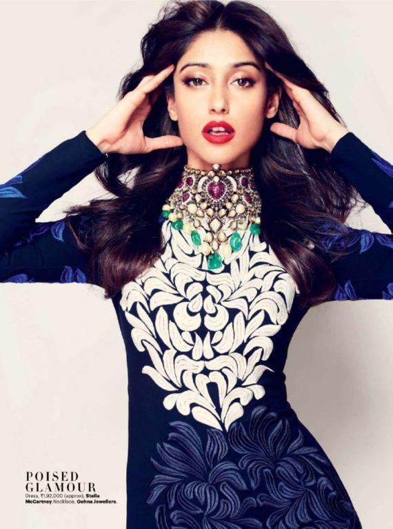 Ileana DCruz For Harper Bazaar India Mag