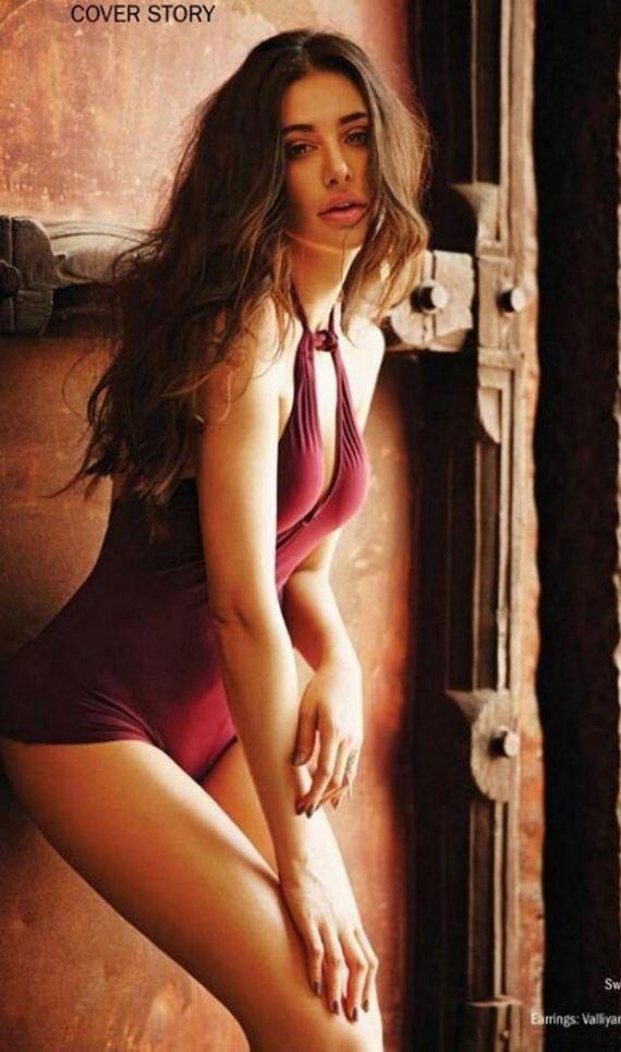 Nargis Fakhri Shoots For Filmfare Magazine