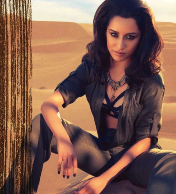 Shraddha Kapoor In Summer Issue Of Vogue
