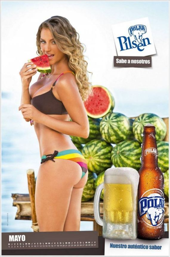 Click to Enlarge - The Polar Pilsen Beer Calendar