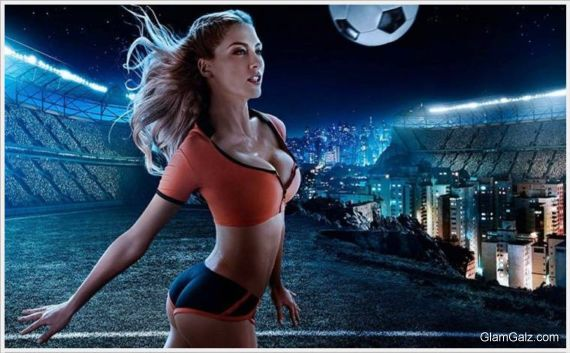 Click to Enlarge - World Cup Beauty Calendar 2014
