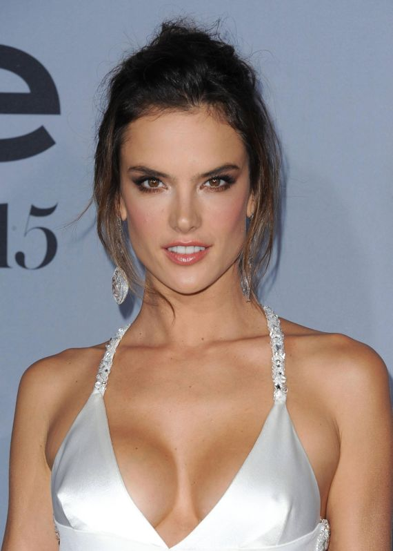 Alessandra Ambrosio At InStyle Awards