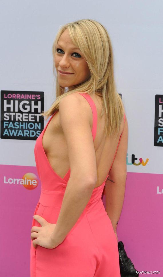 Chloe Madeley At High Street Fashion Awards