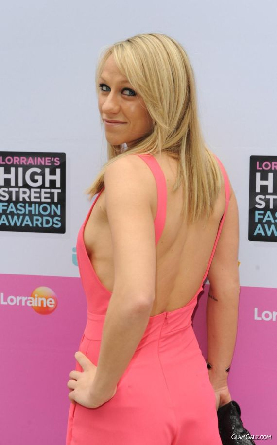 Chloe Madeley At High Street Fashion Awards