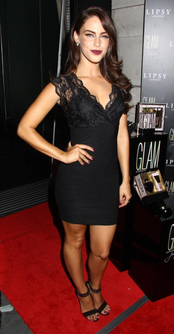 Jessica Lowndes At The Launch Of Lipsy Glam Perfume