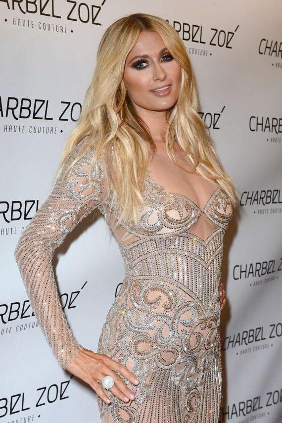Paris Hilton Charbel Zoe Melrose Store Opening