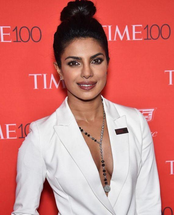 Priyanka Chopra At 2016 Time 100 Gala In New York