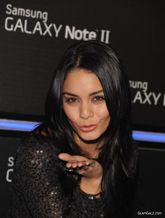 Pretty Vanessa Hudgens At Samsung Galaxy Note II Launch