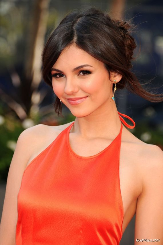 Cute Victoria Justice Creative Arts Emmy Awards