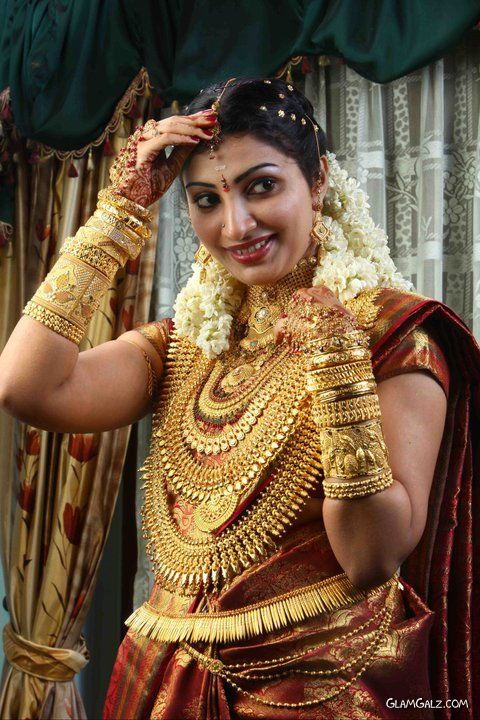 Gold Loaded Indian Bride
