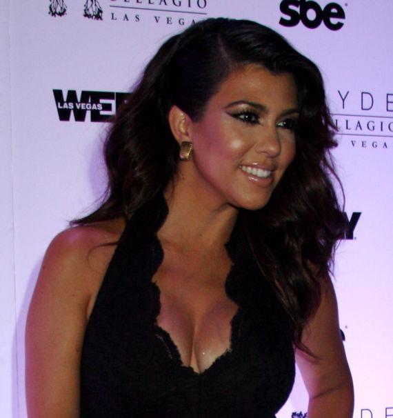 Kourtney Kardashian Host A Party At Hyde Nightclub