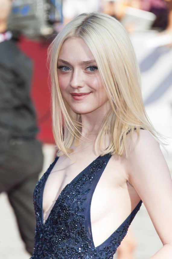 Absolute Beauty Dakota Fanning At Night Moves Premiere
