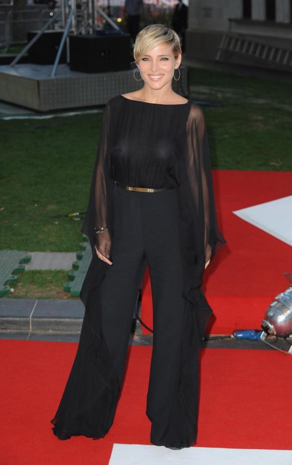 Elsa Pataky At Movie Rush UK Premiere