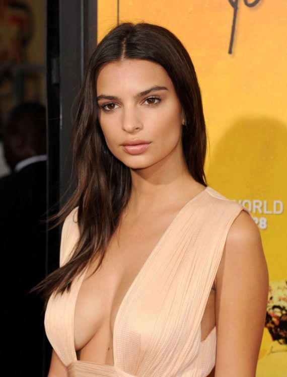 Emily Ratajkowski In Movie Premiere In LA