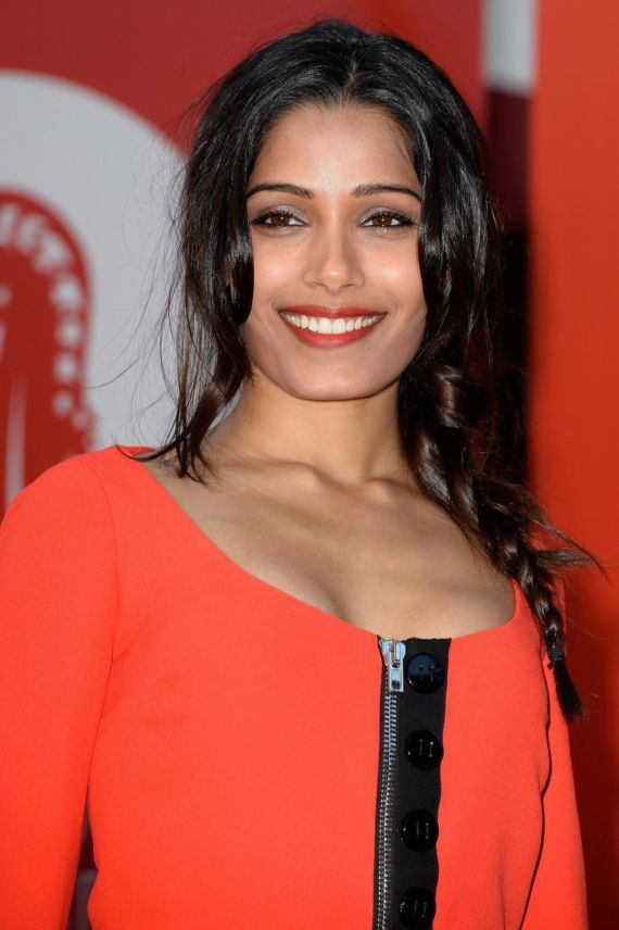 Beautiful Freida Pinto At Miu Miu Womens Tales Premier