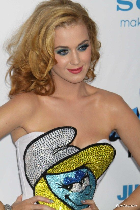 Katy Perry At The Smurfs Premiere in New York
