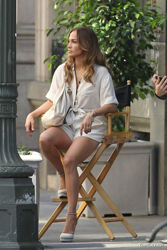 Jennifer Lopez In Her Business Shorts