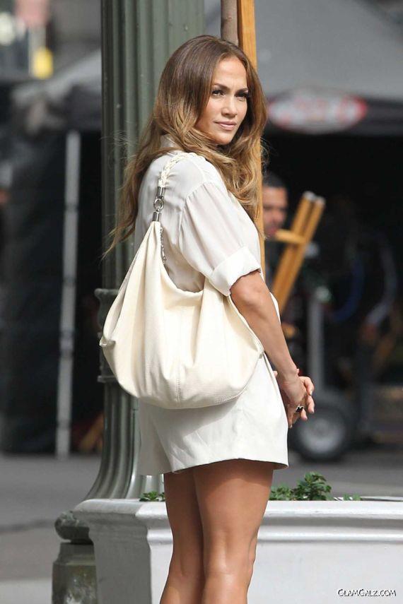 Jennifer Lopez In Her Business Shorts