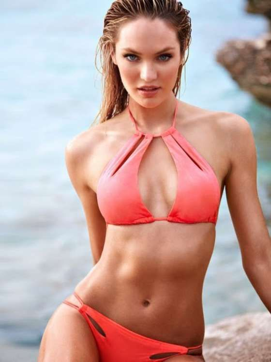 Candice Swanepoel For Victoria's Photo Session