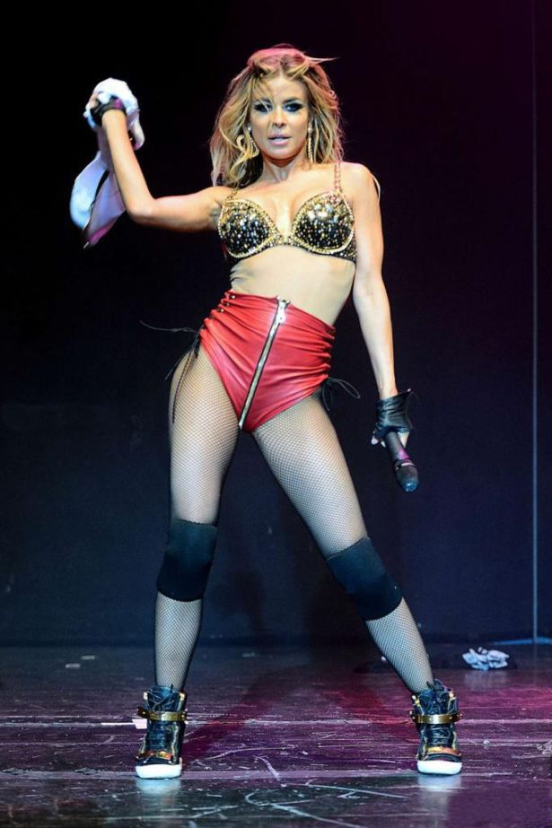 Carmen Electra Performs Live in Hollywood