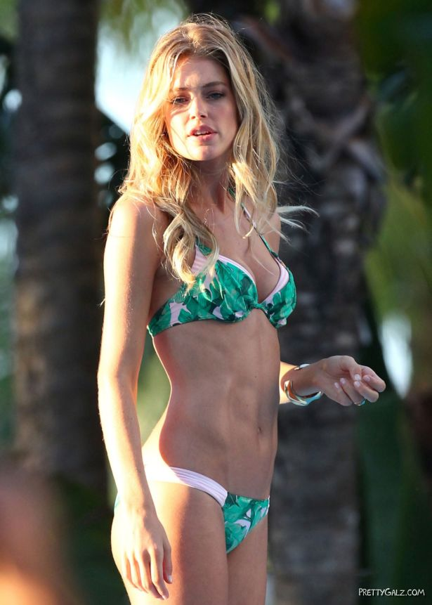 Doutzen Kroes On A Bikini Vacation In Miami