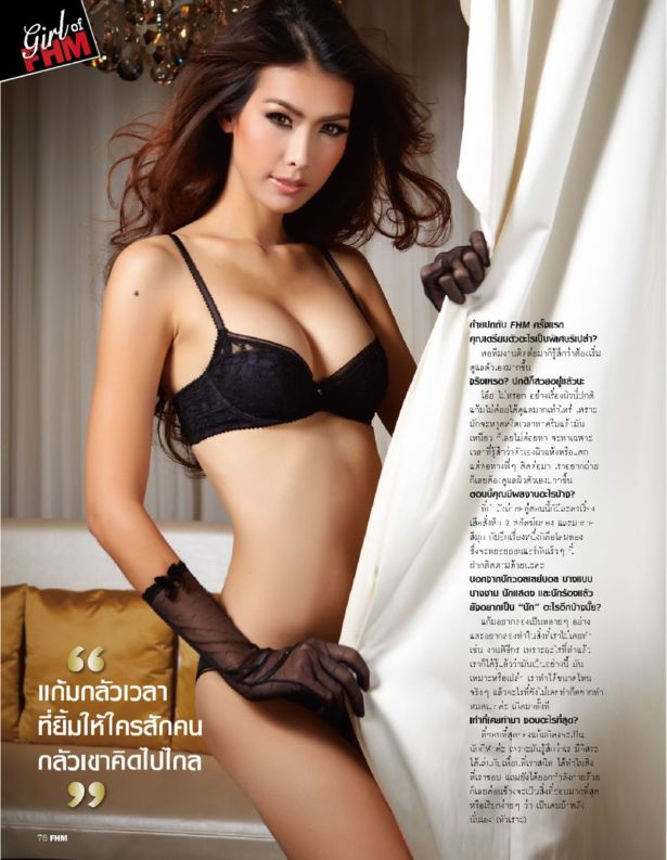 Gavintra Photijak For FHM Thailand