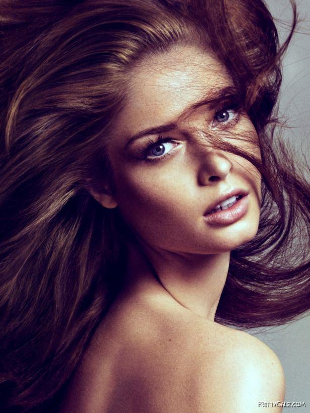 Beautiful Fashion Model Sandrah Hellberg