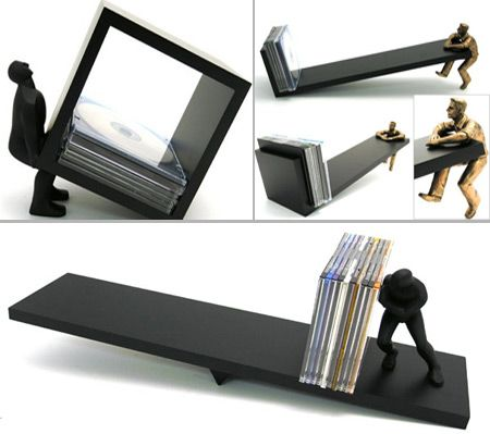 Coolest CD DVD Holders